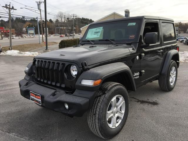 Central Maine Motors >> New 2018 Jeep Wrangler Sport S 4x4 Sport Utility In Waterville