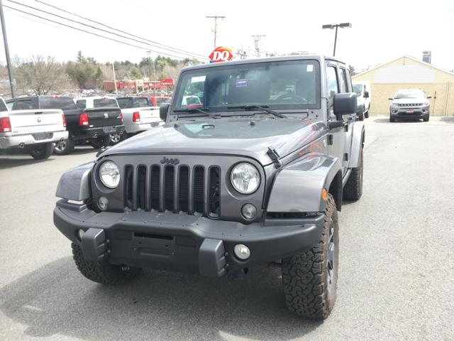 Pre-Owned 2016 Jeep Wrangler Unlimited 4WD 4dr Backcountry *Ltd Avail*