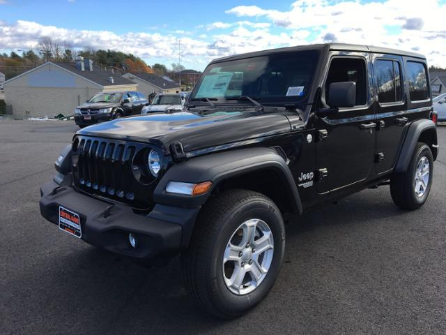 Central Maine Motors >> New 2018 Jeep Wrangler Unlimited Sport S 4x4 4wd