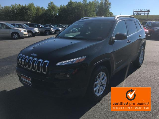 Certified Pre Owned 2018 Jeep Cherokee Latitude 4x4