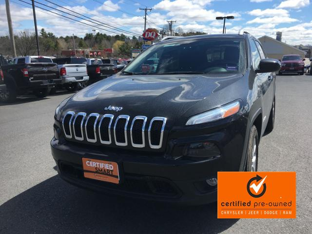 Jeep Certified Pre-Owned >> Certified Pre Owned 2016 Jeep Cherokee 4wd 4dr Latitude Sport
