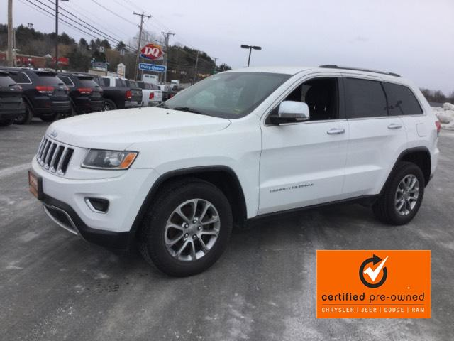 certified pre owned 2015 jeep grand cherokee 4wd 4dr limited sport utility in waterville. Black Bedroom Furniture Sets. Home Design Ideas