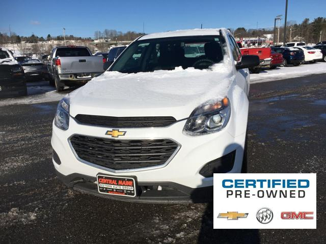 Certified Pre-Owned 2016 Chevrolet Equinox AWD 4dr LS