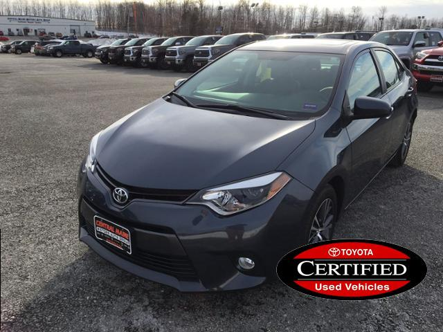 Certified Pre-Owned 2016 Toyota Corolla 4dr Sdn CVT LE Premium