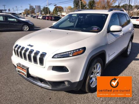 Certified Pre-Owned 2016 Jeep Cherokee 4WD 4dr Limited 4WD