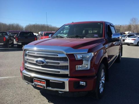 Pre-Owned 2015 Ford F-150 4WD SuperCrew 157 Platinum