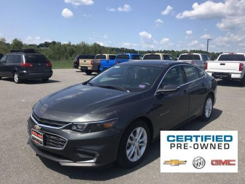Certified Pre-Owned 2018 Chevrolet Malibu 4dr Sdn LT w/1LT FWD 4dr Car