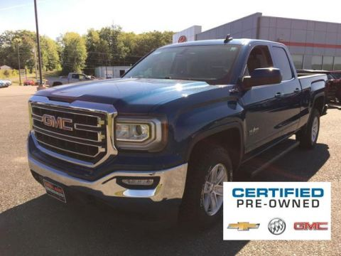 Certified Pre-Owned 2016 GMC Sierra 1500 4WD Double Cab 143.5 SLE 4WD