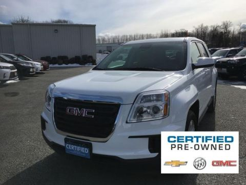 Certified Pre-Owned 2017 GMC Terrain AWD 4dr SLE w/SLE-1