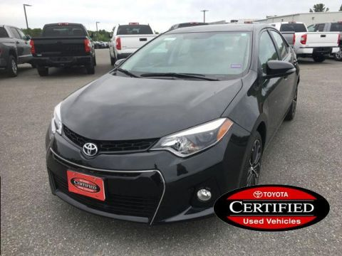 Certified Pre-Owned 2016 Toyota Corolla 4dr Sdn CVT S Plus