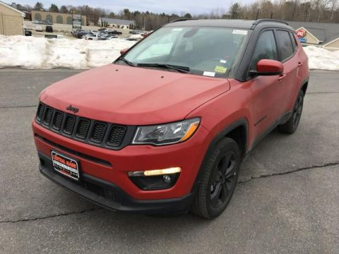 New 2020 Jeep Compass Altitude 4x4 4WD