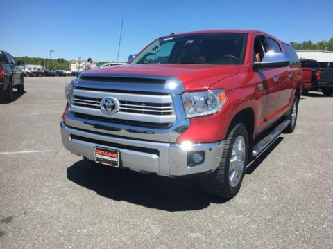 Pre-Owned 2014 Toyota Tundra 4WD CrewMax 5.7L V8 6-Spd AT 1794