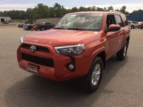New 2019 Toyota 4Runner SR5 4WD 4WD