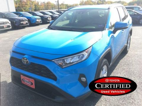 Certified Pre-Owned 2019 Toyota RAV4 XLE AWD AWD